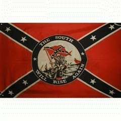 Vlag Rebel-the south will rise
