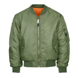 Bomberjack MA-1  groen   (Heren)