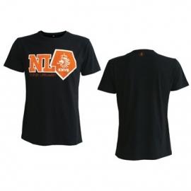 KNVB NL Oranje Leeuwen Black Shirt