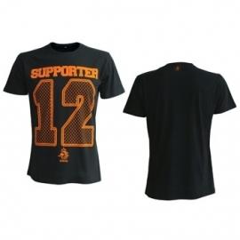 Voetbal Supporter 12 Black Shirt