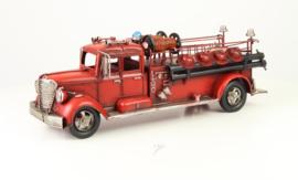 Metalen Model Brandweertruck
