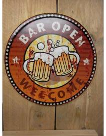 Beer Cap - Bar Open