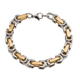 Konings armband edelstaal - 118