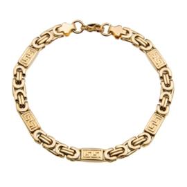 Konings armband edelstaal- 114