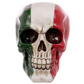 Schedel Italiaanse Vlag