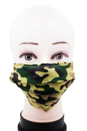 Mondkapje Wasbaar - Camouflage