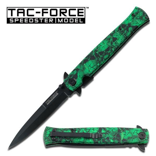 Tac Force Milano Green Skull