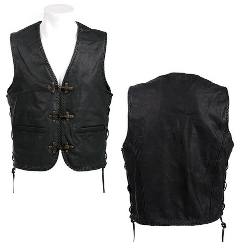 Biker vest X-treme   ( Buffalo leather )