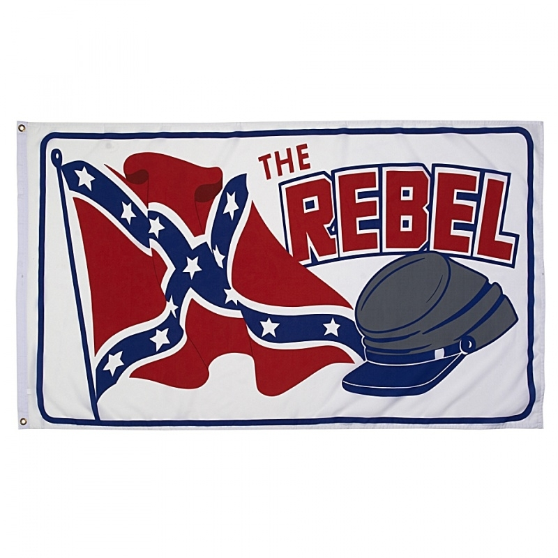 Vlag Rebel with cap