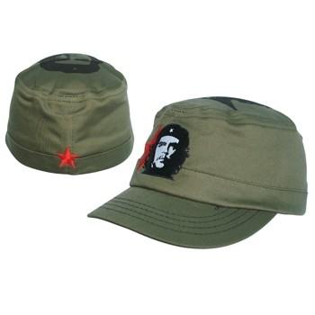 Che Green Military Style Flex Cap