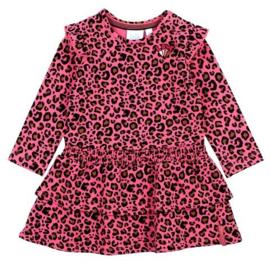 Feetje Animal attitude jurk pink 514.00344