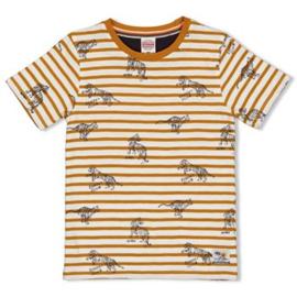 Sturdy Happy Camper shirt yellow ochre 71700314