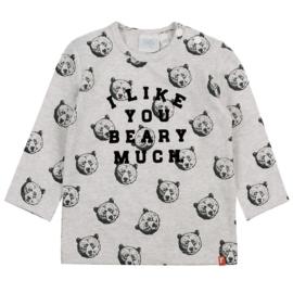 Feetje Bear Hugs grey melange 516.01616
