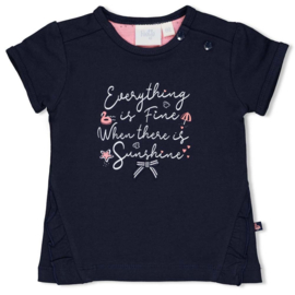 Feetje Lovely to see you shirt navy 51700605/7286384