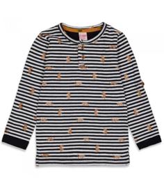 Sturdy On A Roll shirt longsleeve streep 71600439