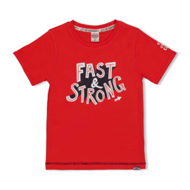 Sturdy Playground t-shirt fast rood 71700301