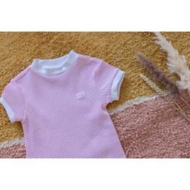Feetje wafel nachthemd roze 305.538