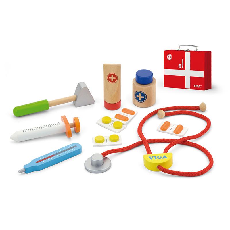 Vigatoys doktersset in koffer