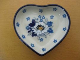 Teabag dish hart B64-2222^