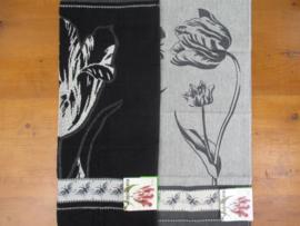 Theedoek en handdoek Special Edition Black Tulip