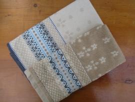 Theedoek en handdoek Marakesh-Sand