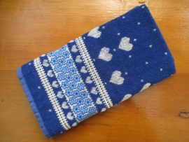 Handdoek Valentine Royal Blue