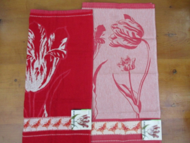 Theedoek en handdoek Special Edition Red Tulip