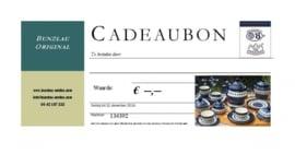 Bunzlau Original Cadeaubon € 15,--