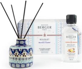 Bunzlau Castle & Maison Berger Perfume Diffuser Set Amber Powder - Marrakesh