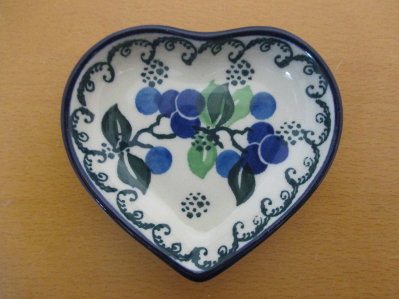 Teabag dish hart B64-1415^