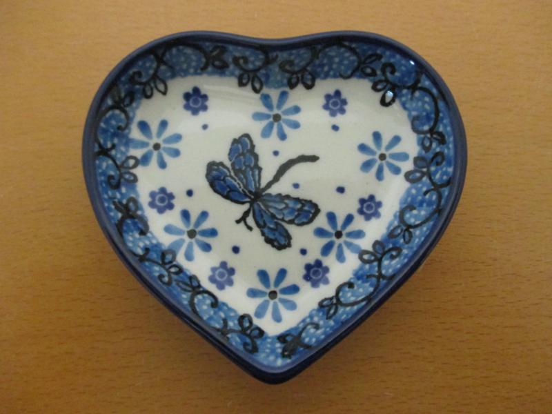 Teabag dish hart B64-1445^