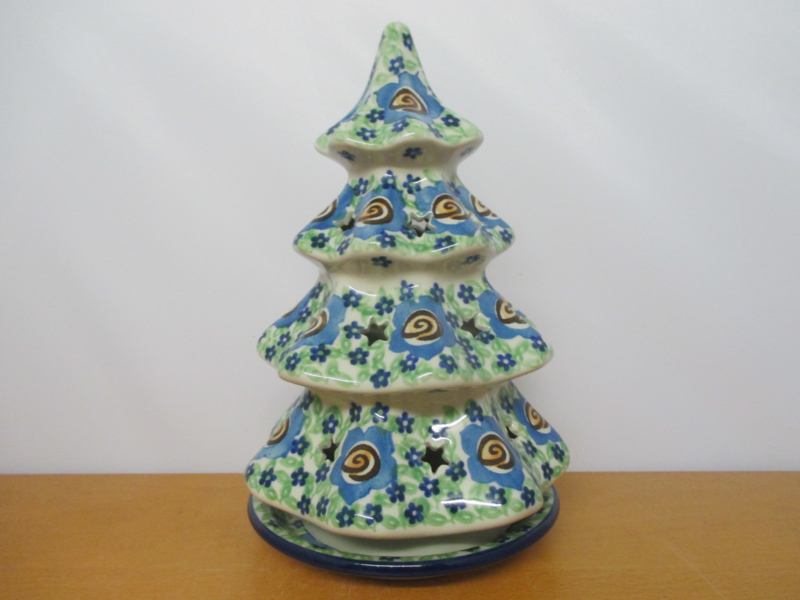 Kerstlicht (waxine) 602-3886 UNIKAT