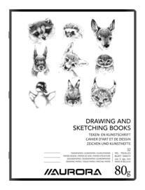 Pak van 20 x Teken- en Kunstschrift A4-plus 8116ST