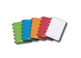 ADOC Set van 4 Mini Notitieboekjes A7 + 2 navullingen