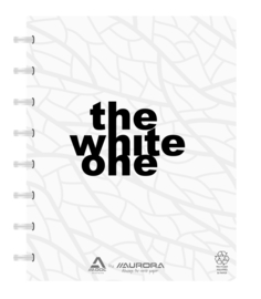 ADOC The White One Schrift/Notebook A5 Blanco papier