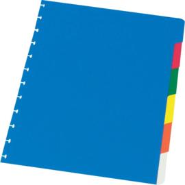 ADOC Dividers Multicolour A4 6 tabs