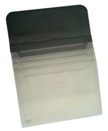Pak van 10 x Sliding files A4, 4-vaks uitschuifbaar FS70020