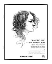 Pak van 25 x Teken/Kunstschrift 8020R1L + schrijfpapier
