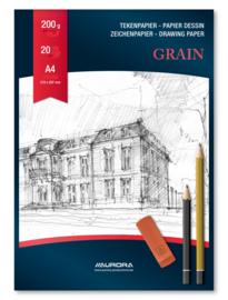 Tekenblok Grain A4 BL11