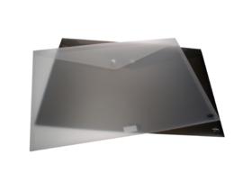 Set van 2 Enveloptassen A3 met drukknoop
