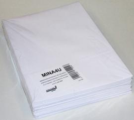 Ministerpapier, vellen dubbel A4, blanco