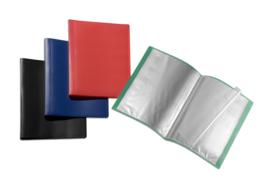 Pak van 5 x Flexibele Showmap A4 10 tassen 25801