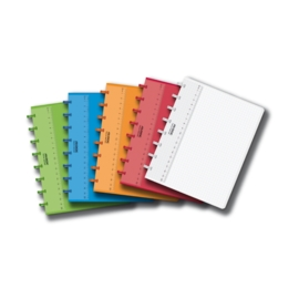ADOC Colorlines A5 Notebook Squared