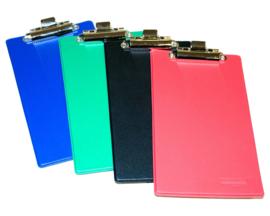 Klembord PVC gelast A6  - set van 25 - Assorti kleuren