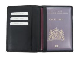 Paspoort omslag zwart