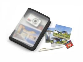 Set van 5 x Portfoliomap A5 met rits