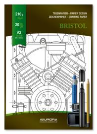 Tekenblok Bristol 297x420 mm BL15