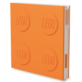 Lego Locking Notebook oranje