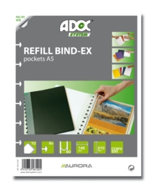ADOC Bind-Ex Navulling/Refill Insteekhoezen A5