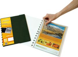 ADOC Project-Ex A4 Display Book 20 pockets